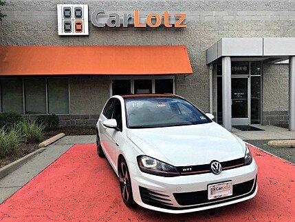 2015 Volkswagen GTI 4-Door for sale 100998311