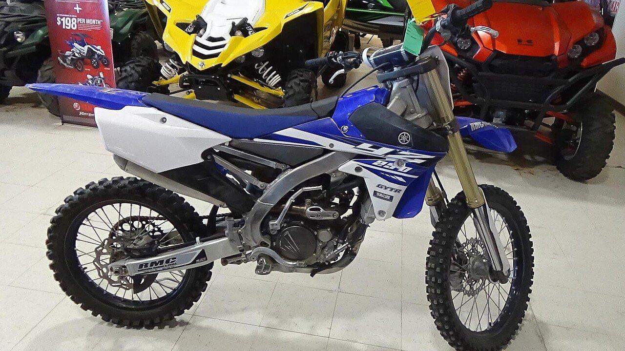 2015 Yamaha YZ250F for sale 200437425