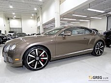 2015 bentley Continental GT Speed Coupe for sale 101040903