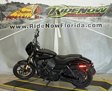 2015 harley-davidson Street 750 for sale 200613721