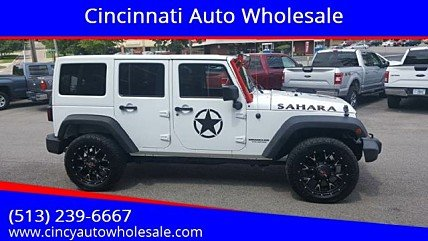 2015 jeep Wrangler 4WD Unlimited Sahara for sale 101012645