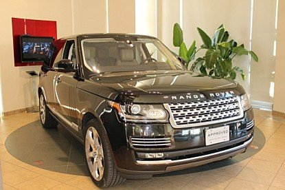 2015 land-rover Range Rover Long Wheelbase Autobiography for sale 100969367