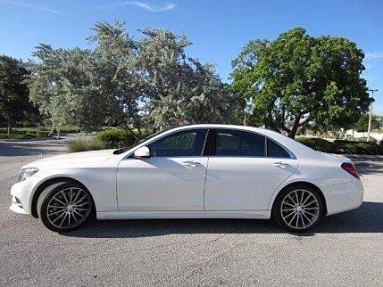 2015 mercedes-benz S550 Sedan for sale 100995783