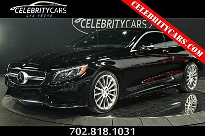 2015 mercedes-benz S550 4MATIC Coupe for sale 101026970