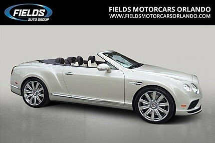 2016 Bentley Continental GT V8 S Convertible for sale 100735293