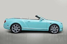 2016 Bentley Continental GT Convertible for sale 100768091