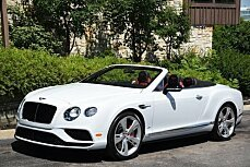 2016 Bentley Continental GT V8 S Convertible for sale 100773544