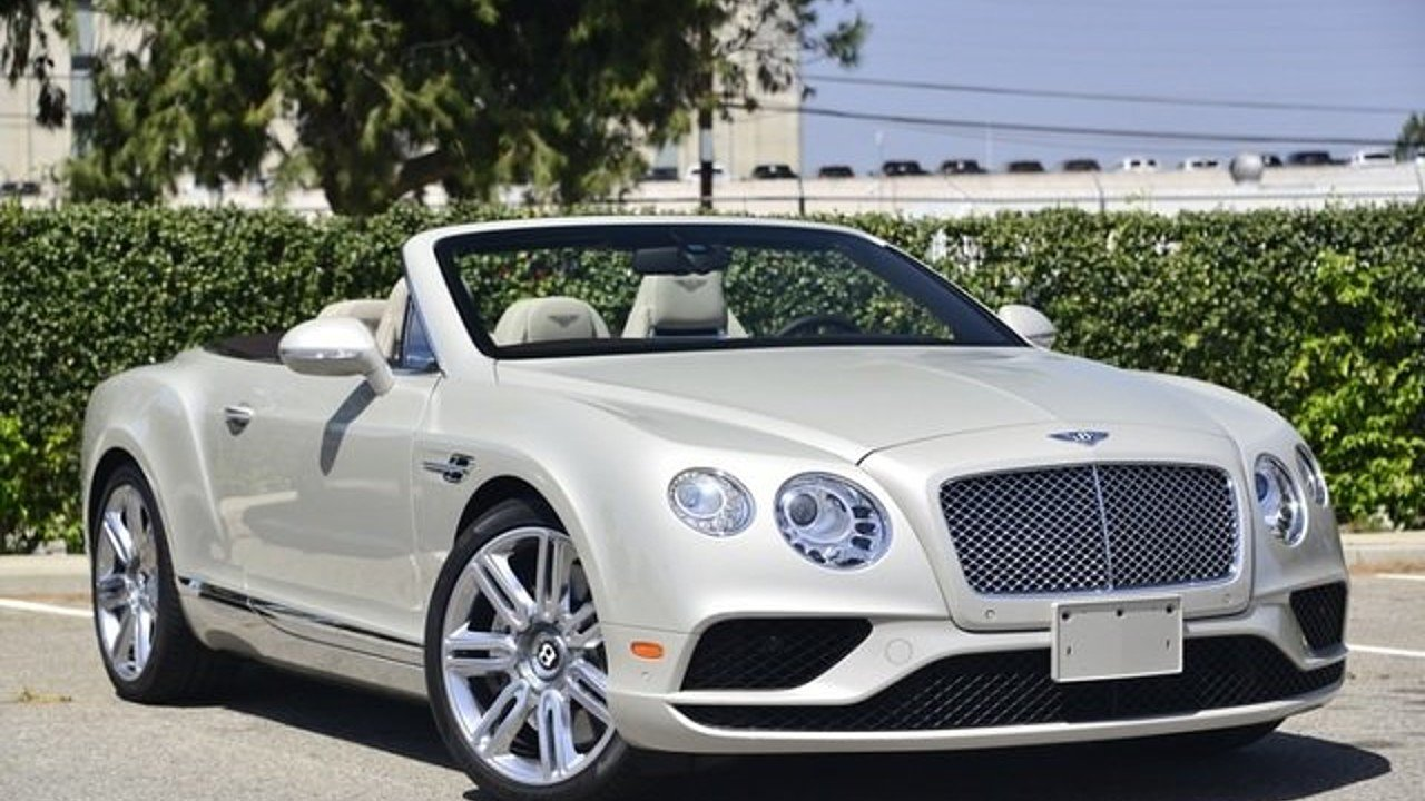 2016 Bentley Continental GT Convertible for sale near Van Nuys ...