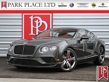 2016 Bentley Continental GT Speed Coupe for sale 100974428