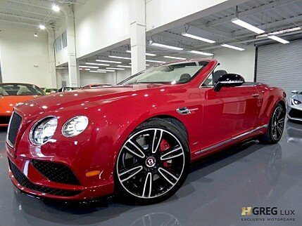 2016 Bentley Continental GT V8 S Convertible for sale 101041702