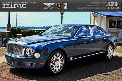 2016 Bentley Mulsanne for sale 100261533