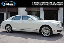 2016 Bentley Mulsanne for sale 100759957
