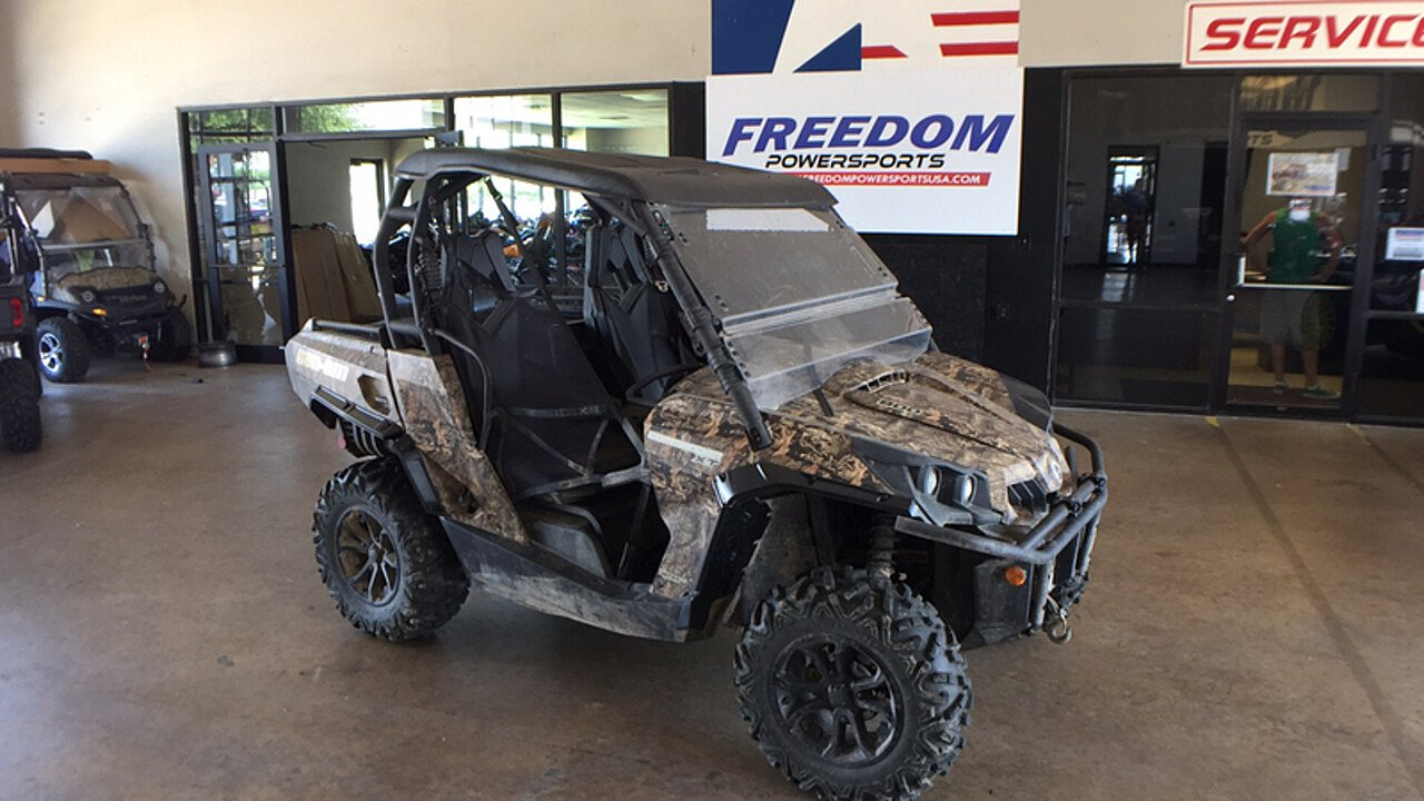 2016 Can-Am Commander 800R XT for sale 200579175