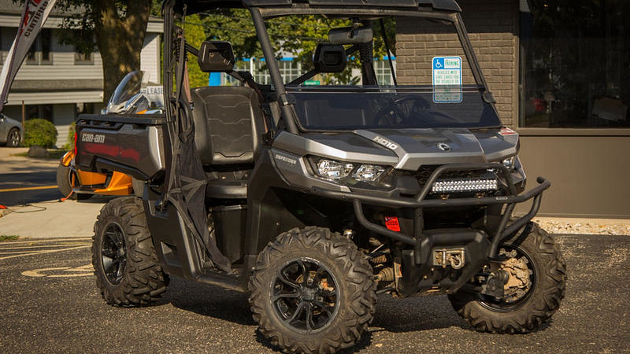 2016 Can-Am Defender HD10 for sale 200627967
