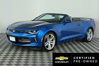 2016 Chevrolet Camaro LT Convertible for sale 100758253