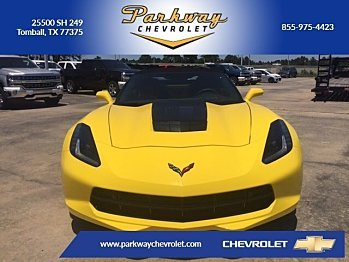 2016 Chevrolet Corvette Convertible for sale 100790566