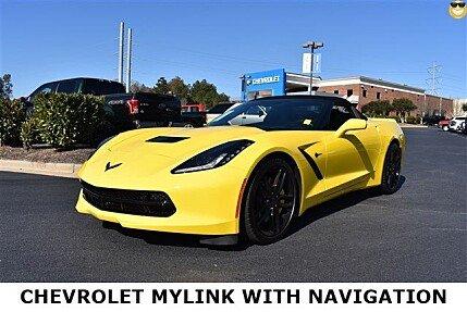 2016 Chevrolet Corvette Convertible for sale 100775330