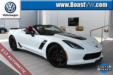 2016 Chevrolet Corvette Z06 Convertible for sale 100987578