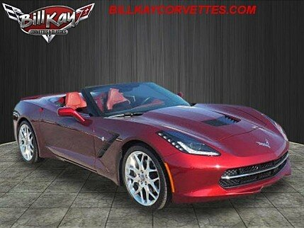 2016 Chevrolet Corvette Convertible for sale 101029561