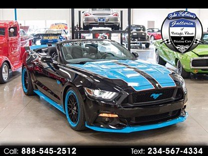 2016 Ford Mustang GT Convertible for sale 100928409