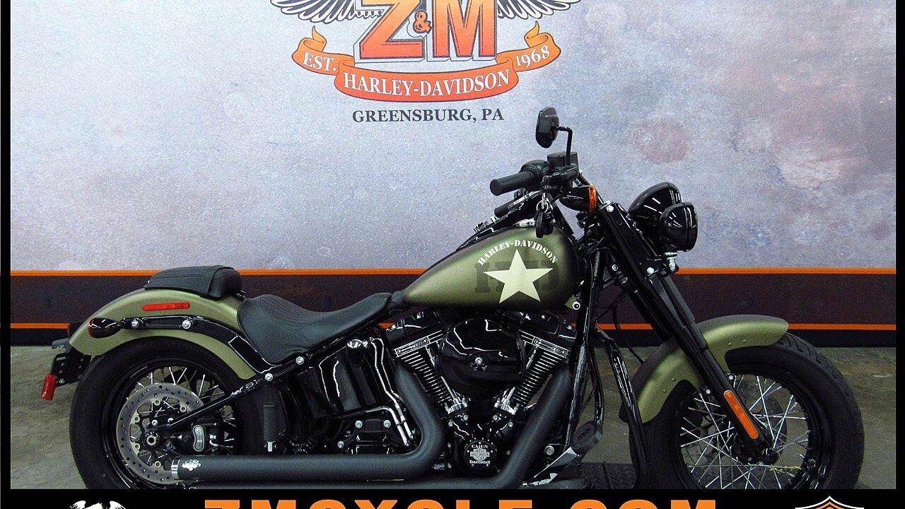 2016 Harley-Davidson Softail for sale 200493230