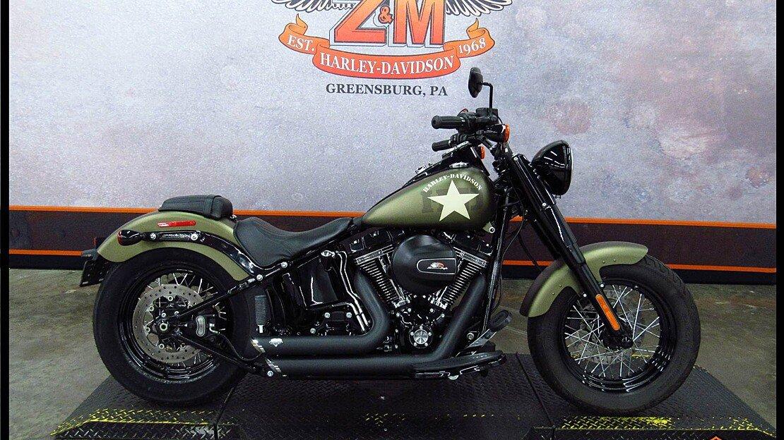 2016 Harley-Davidson Softail for sale 200610275