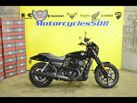 2016 Harley-Davidson Street 750 for sale 200635004