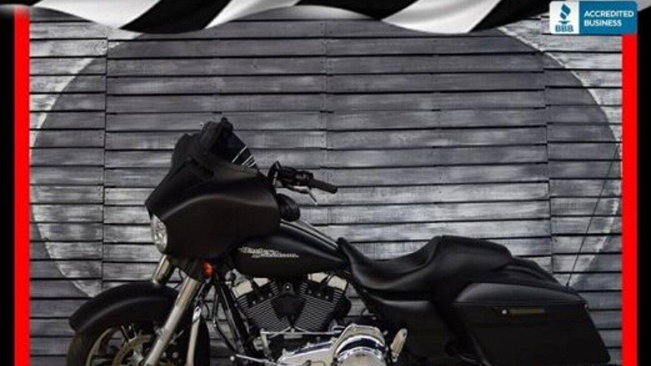 2016 Harley-Davidson Touring for sale 200621071