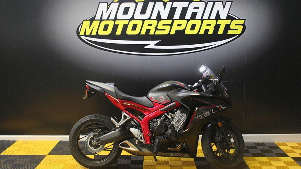2016 Honda CBR650F for sale 200582480