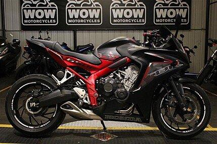 2016 Honda CBR650F for sale 200605332