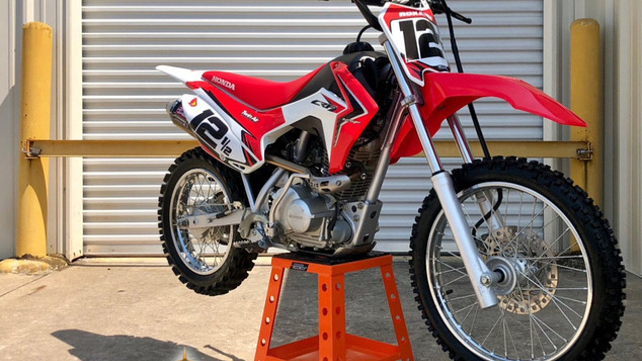 2016 Honda CRF125F for sale 200609027