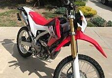 2016 Honda CRF250L for sale 200460807