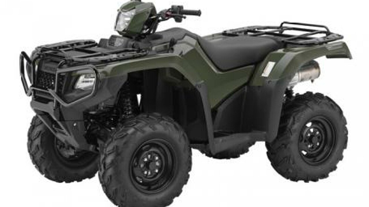 2016 Honda FourTrax Foreman Rubicon for sale 200491431
