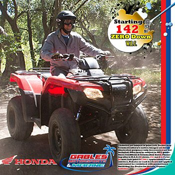2016 Honda FourTrax Rancher for sale 200340152