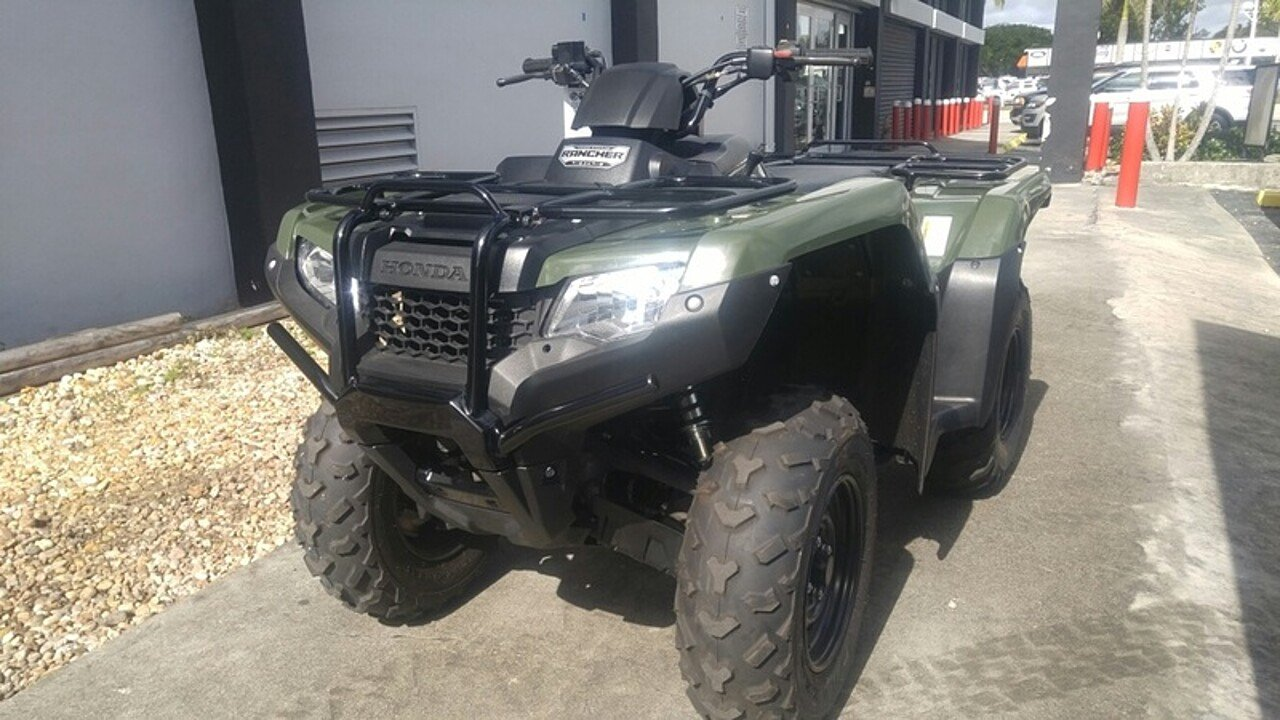 2016 Honda FourTrax Rancher for sale 200525854