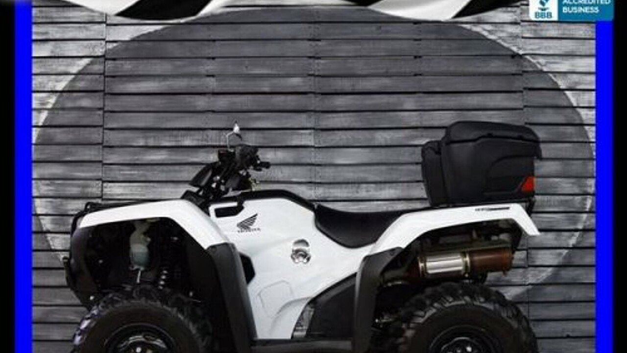 2016 Honda FourTrax Rancher for sale 200555681