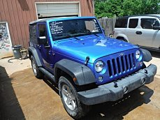 2016 Jeep Wrangler 4WD Sport for sale 100767418