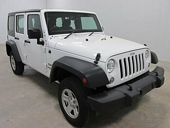 2016 Jeep Wrangler 4WD Unlimited Sport w/ RHD for sale 100773185