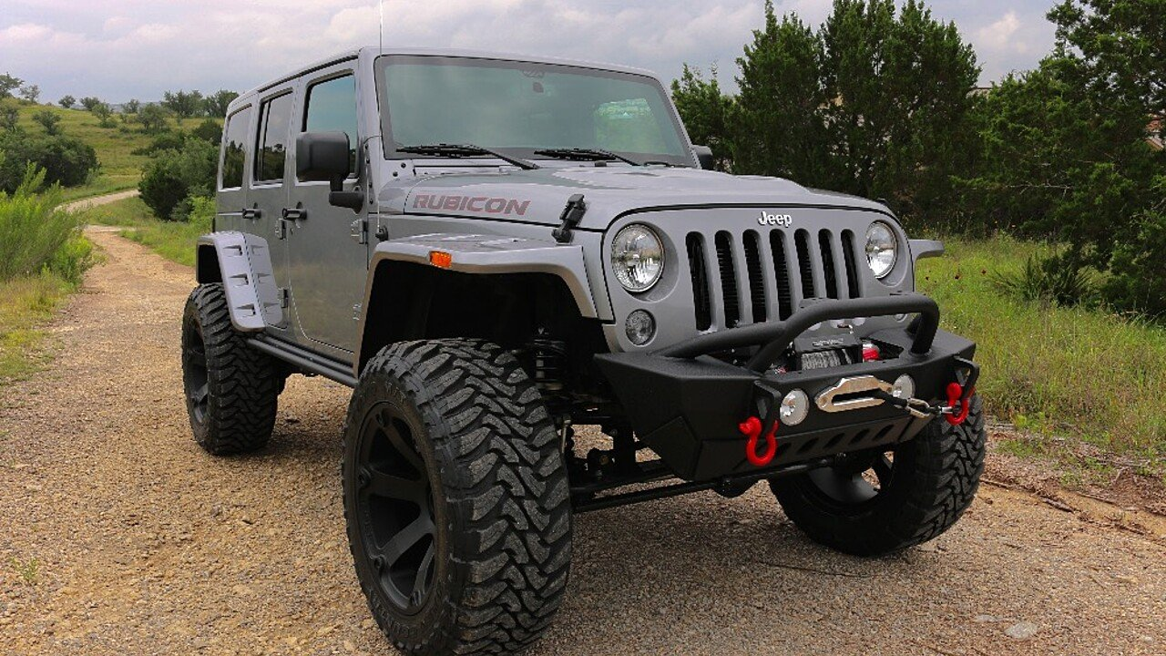 2016 jeep wrangler 4wd unlimited rubicon for sale near austin texas 78737 classics on autotrader. Black Bedroom Furniture Sets. Home Design Ideas