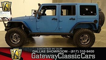 2016 Jeep Wrangler 4WD Unlimited Rubicon for sale 100920555