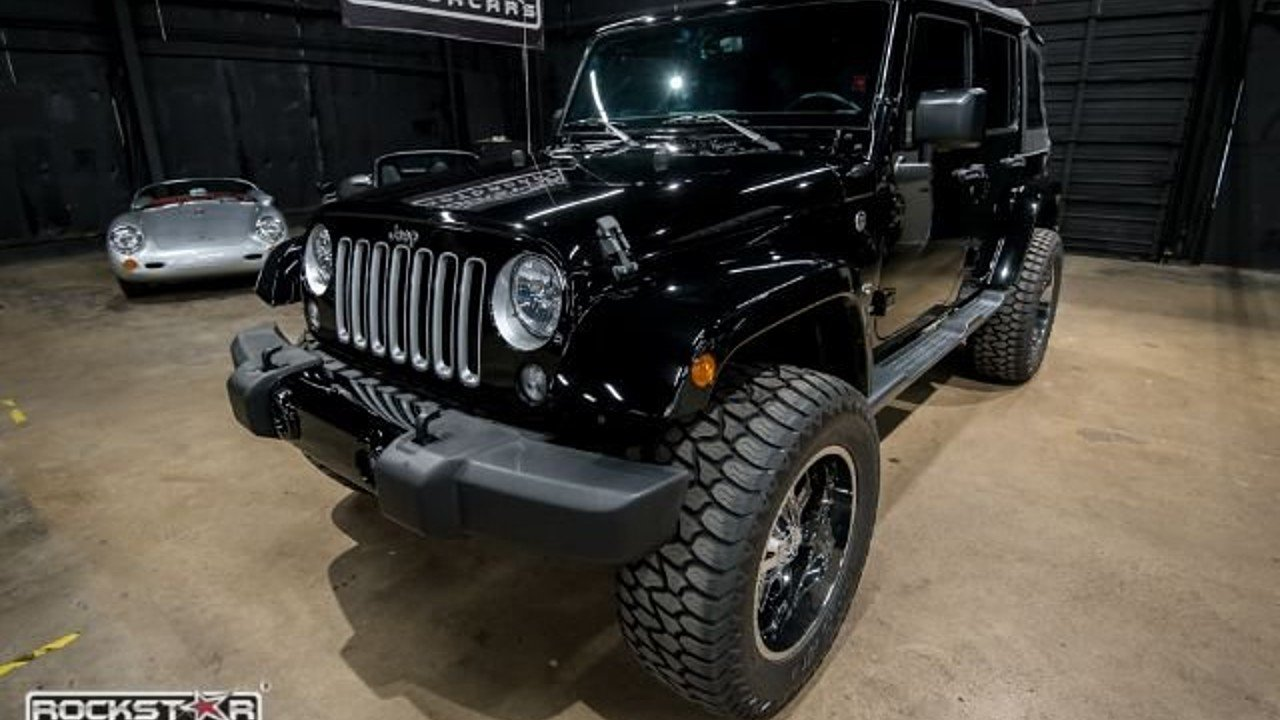 2016 Jeep Wrangler 4WD Unlimited Sahara for sale 100924297