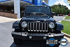 2016 Jeep Wrangler 4WD Unlimited Sahara for sale 100885121