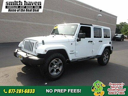 2016 Jeep Wrangler 4WD Unlimited Sahara for sale 100889237