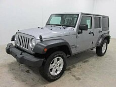 2016 Jeep Wrangler 4WD Unlimited Sport for sale 100940470