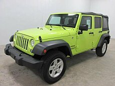 2016 Jeep Wrangler 4WD Unlimited Sport for sale 100940475