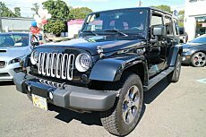 2016 Jeep Wrangler 4WD Unlimited Sahara for sale 100946378