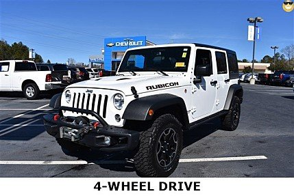 2016 Jeep Wrangler 4WD Unlimited Rubicon for sale 100953603