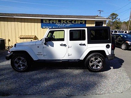 2016 Jeep Wrangler 4WD Unlimited Sahara for sale 100954789