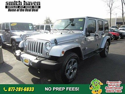 2016 Jeep Wrangler 4WD Unlimited Sahara for sale 100956080