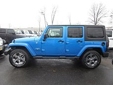 2016 Jeep Wrangler 4WD Unlimited Sahara for sale 100956318